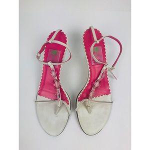 Lilly Pulitzer | Slingback Kitten Heel Sandals